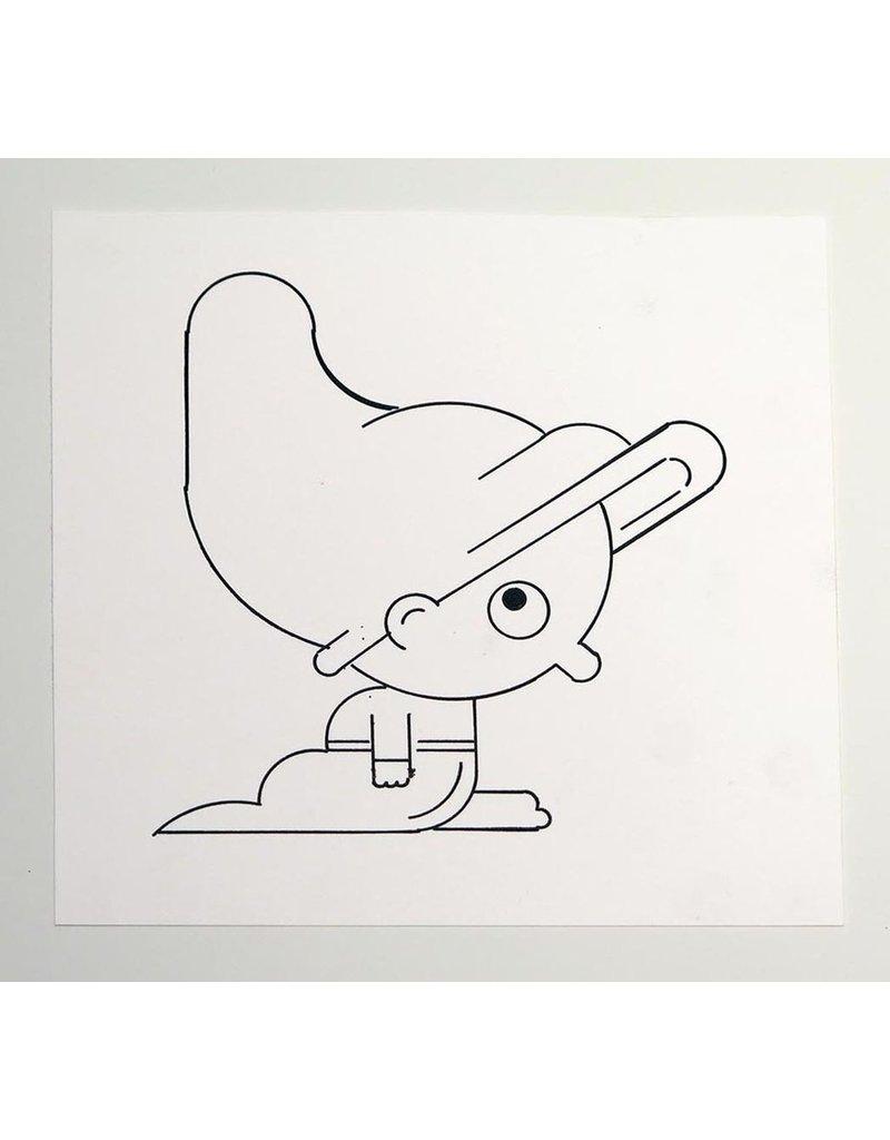 Ivan Brunetti Little Person, Illustration by Ivan Brunetti