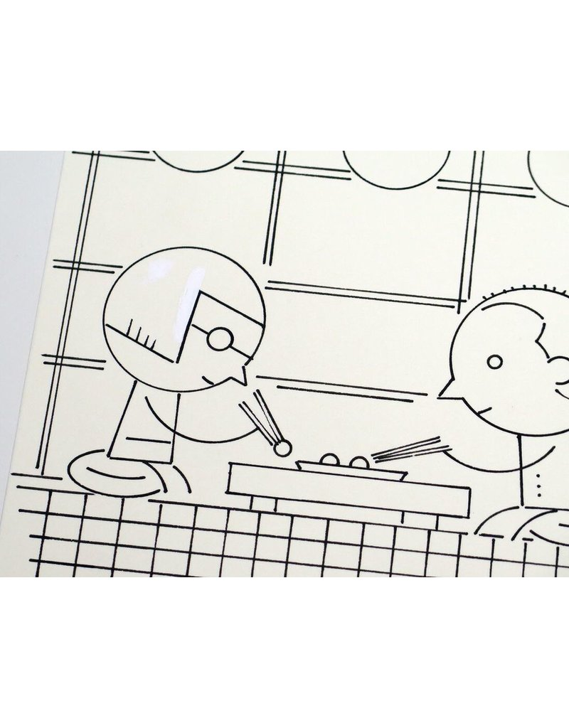 Ivan Brunetti Restaurant, Illustration by Ivan Brunetti for the New Yorker, Goings On About Town, September 12, 2013