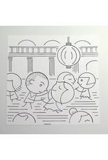 Ivan Brunetti Dance, Illustration by Ivan Brunetti for the New Yorker, Goings On About Town, September 12, 2013