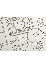 Ivan Brunetti Food Truck, Illustration by Ivan Brunetti for the New Yorker, Goings On About Town, September 12, 2013