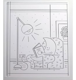 Ivan Brunetti Moonlight (from Wordplay) 2016 by Ivan Brunetti