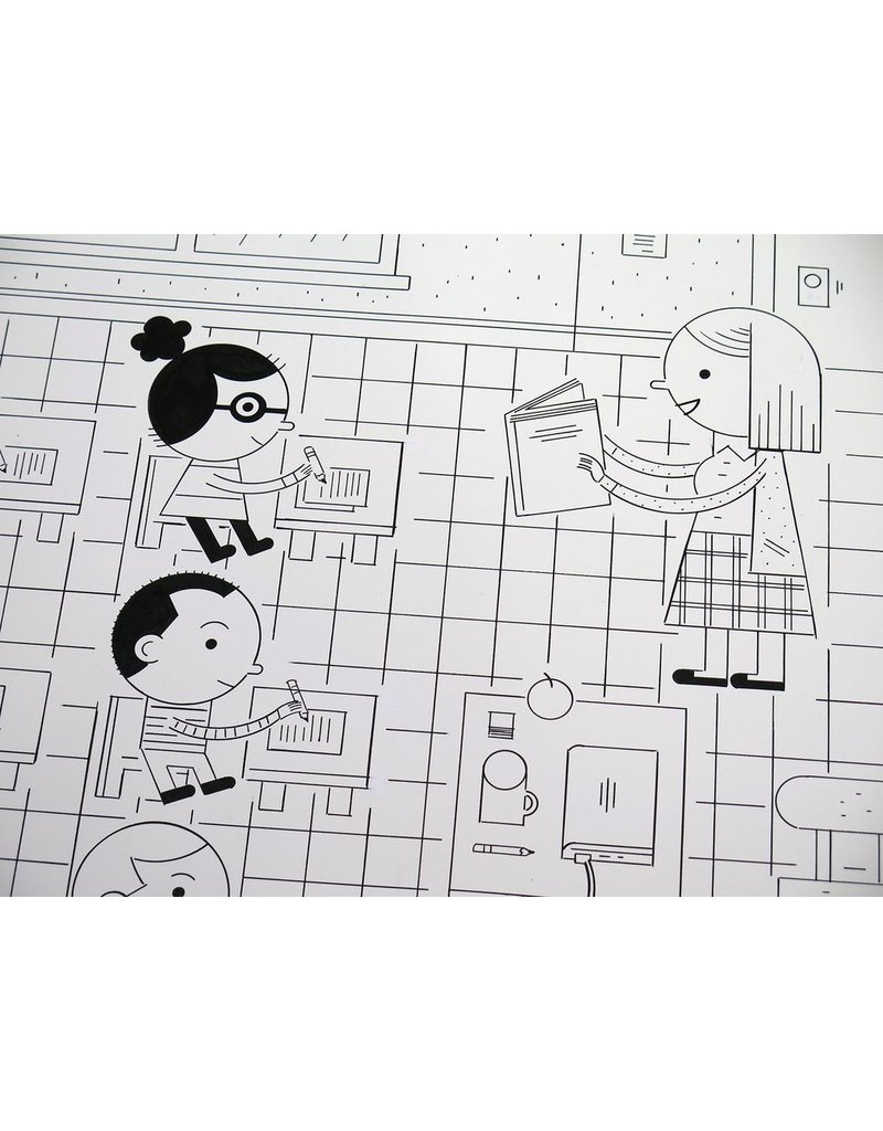 Ivan Brunetti Classroom (from Wordplay) 2016 by Ivan Brunetti