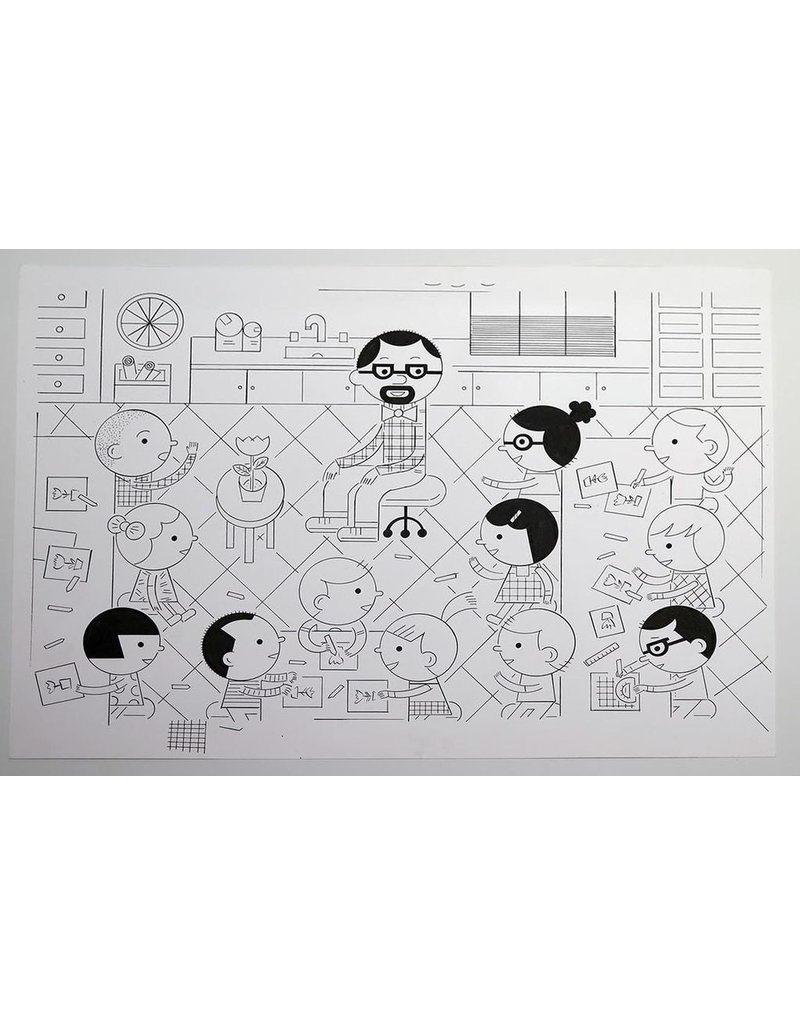 Ivan Brunetti Art Class (from 3X4) 2017 by Ivan Brunetti