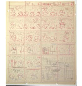 Ivan Brunetti Mr. Peach (Pencil Rough), 2011 by Ivan Brunetti