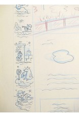 "Ivan Brunetti Pencil rough for ""One Thin Ice"" (cover of the New Yorker, Jan. 8, 2007) by Ivan Brunetti"