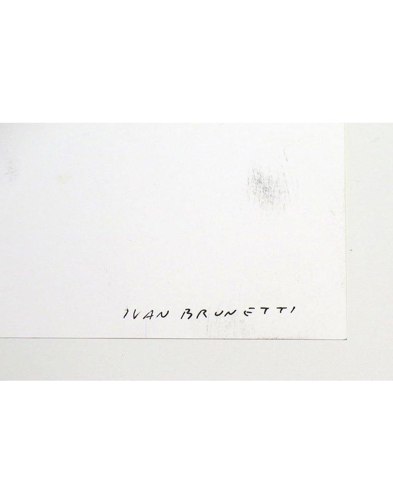 Ivan Brunetti A Childhood Story, ink on bristol by Ivan Brunetti