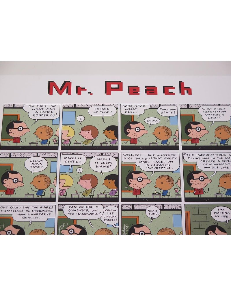 Ivan Brunetti Mr. Peach (Color Print) 2011 by Ivan Brunetti