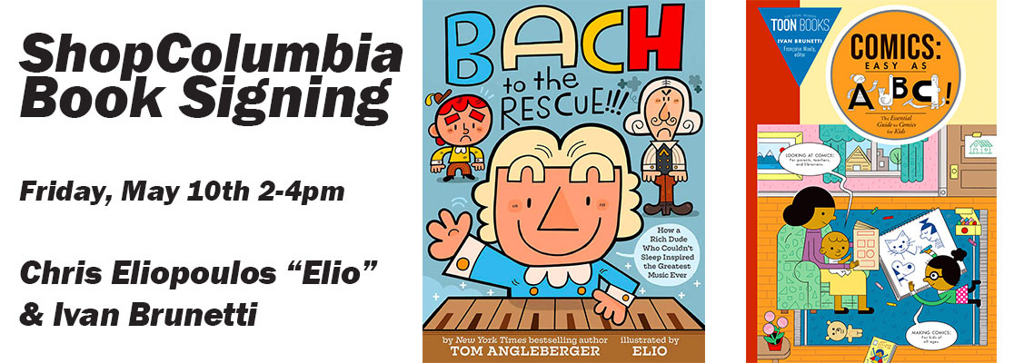 "Book Signing with Ivan Brunetti and Chris ""Elio"" Eliopoulos"