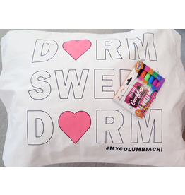 """Dorm Sweet Dorm"" Pillowcase Kit - Buy Columbia, By Columbia"