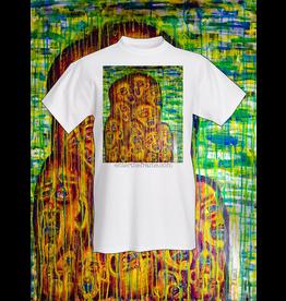 "Evan Kasle ""Convergence of Our Vibrant Souls"" Tee Shirt (Medium) by Evan Kasle"