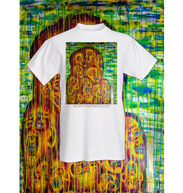 """Evan Kasle """"Convergence of Our Vibrant Souls"""" Tee Shirt (Small) by Evan Kasle"""
