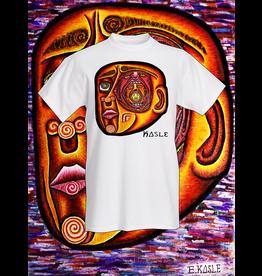 """Evan Kasle """"Inside the Mind's Eye"""" Tee Shirt (Large) by Evan Kasle"""