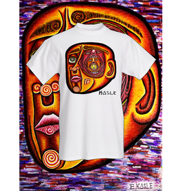 """Inside the Mind's Eye"" Tee Shirt (Small) by Evan Kasle"
