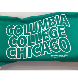 Columbia College Chicago Sweatshirt Blanket in Kelly - Buy Columbia, By Columbia