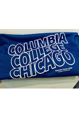 Columbia College Chicago Sweatshirt Blanket in Hyper Blue - Buy Columbia, By Columbia