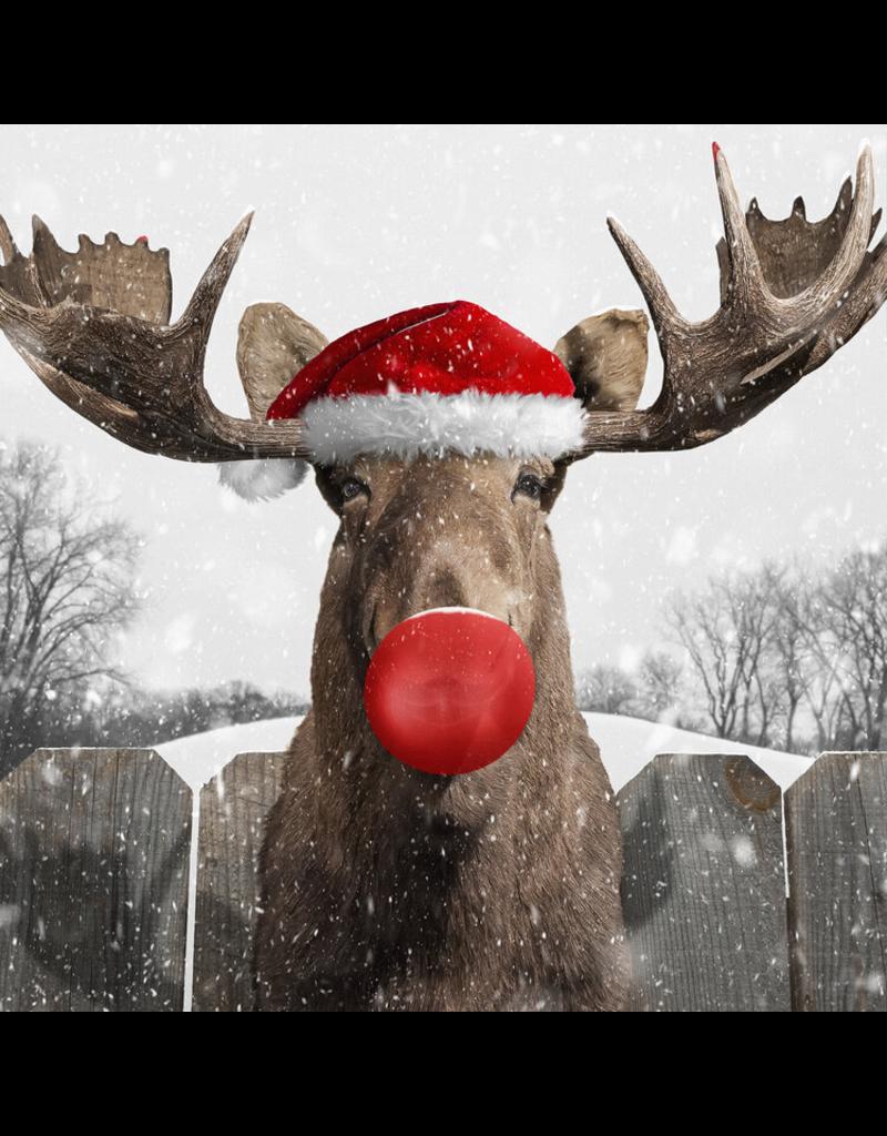 Jacob Watts Holiday Moose by Jacob Watts