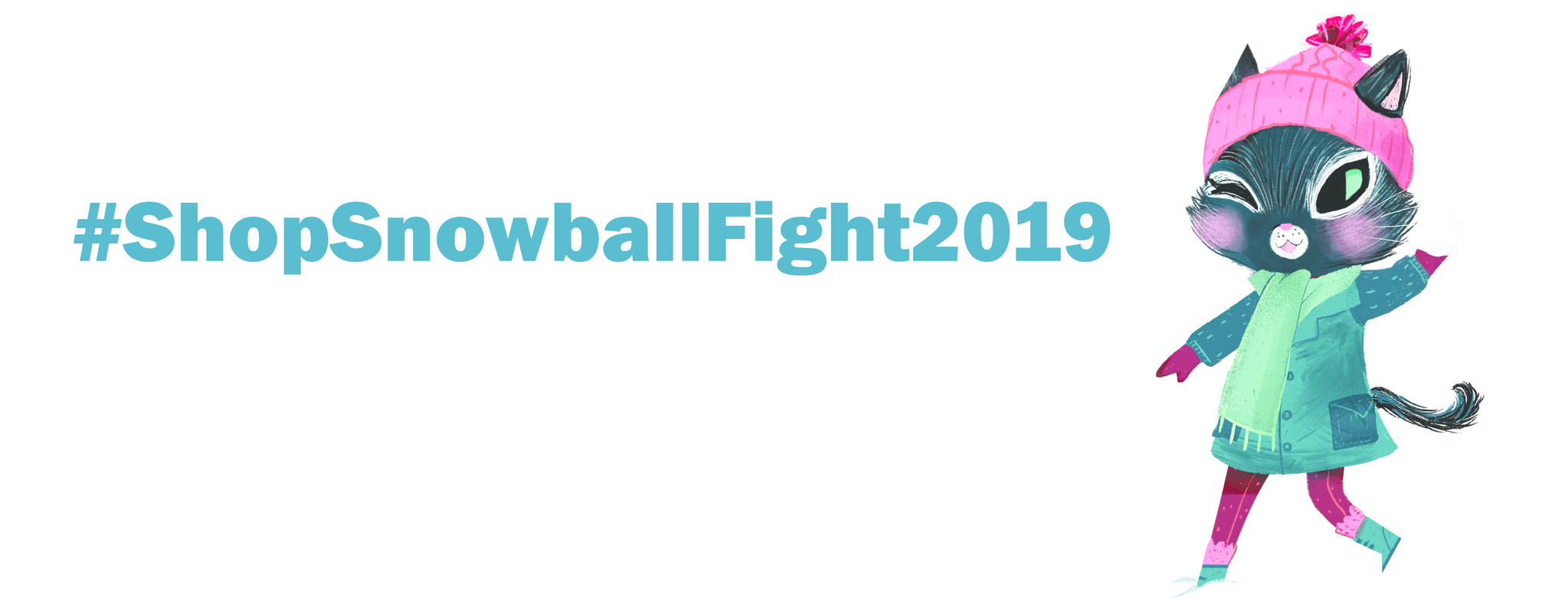 #ShopSnowballFight2019