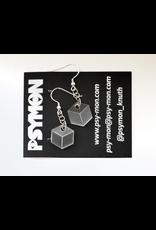 """""""Cube"""" earrings by Simon Knuth"""