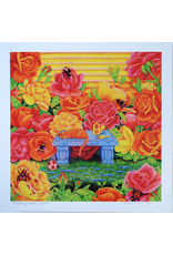 """Rose Garden"" Art Print by Megan Rivera"