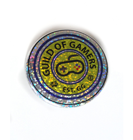 "David Knight Corvus Press ""Gamer"" Single Button by David Knight"