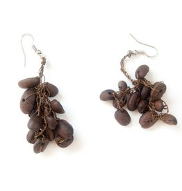 Artyfactos Coffee Bean Earrings