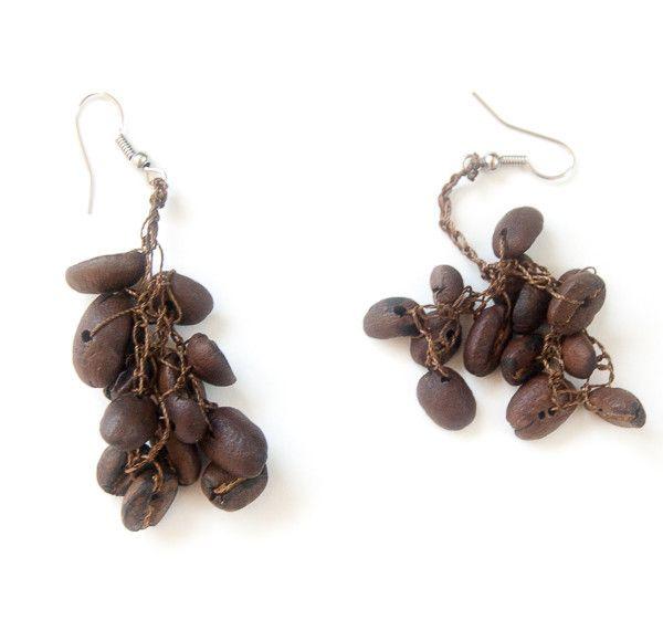 Artyfactos Coffee Bean Earrings