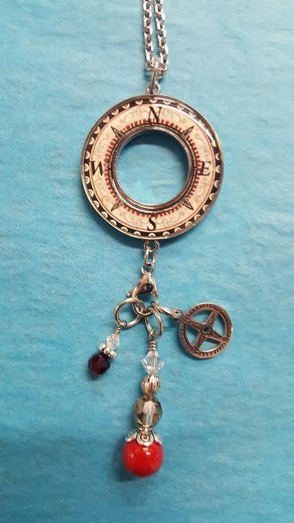 Spirit Lala Compass Heart Med Doub Bez