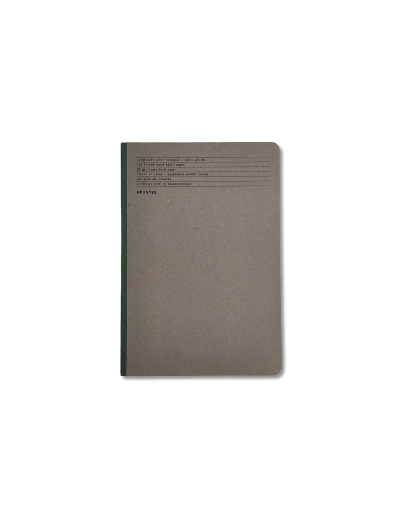 Classic Cloth Spine Notebook