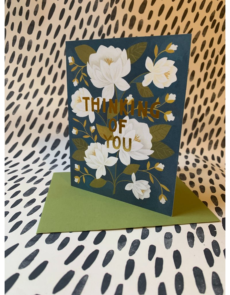 Thanking of You Card - Raleigh Floral