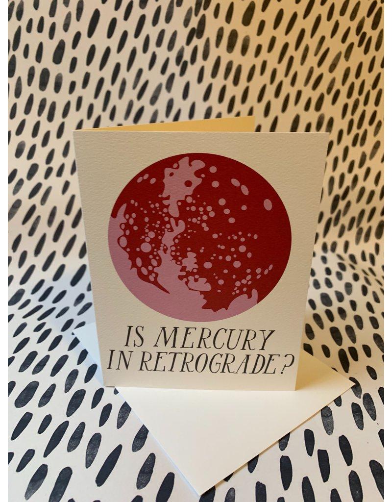 Is Mercury In Retrograde? Card