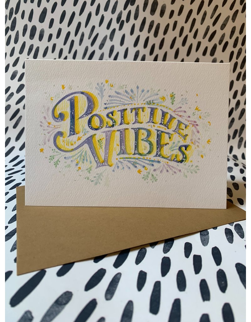 Positive Vibes Card
