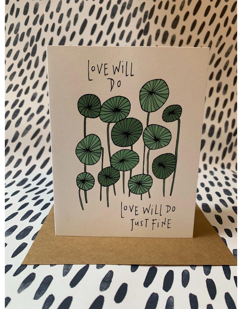 Love Will Do Card