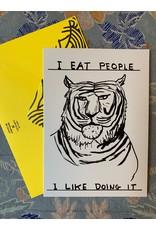 I Eat People Card