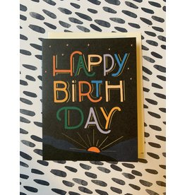 Sunrise Birthday Card