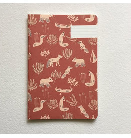 Camping with Foxes Notebook