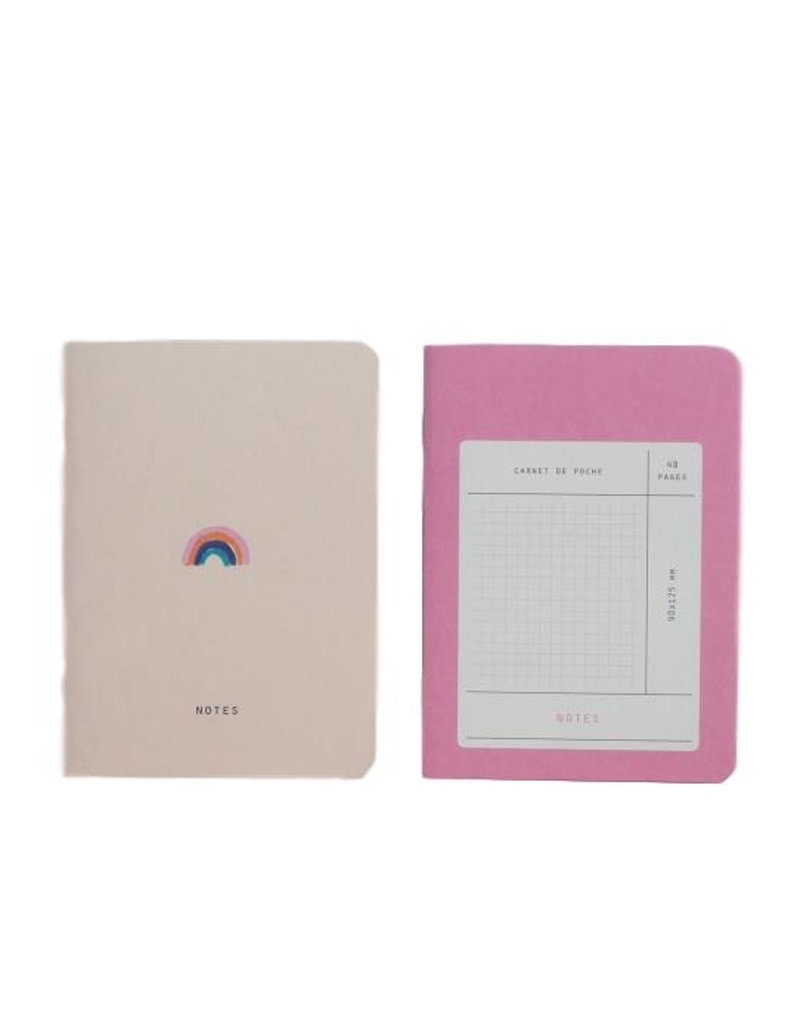 Arc En Ciel Pocket Notebook Set