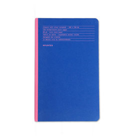 Azul Rosa Classic Notebook