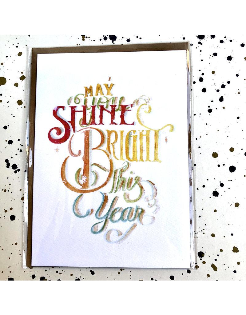 May You Shine Bright This Year Card