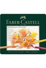 Faber Castell 24 Polychromos Color Pencil Set