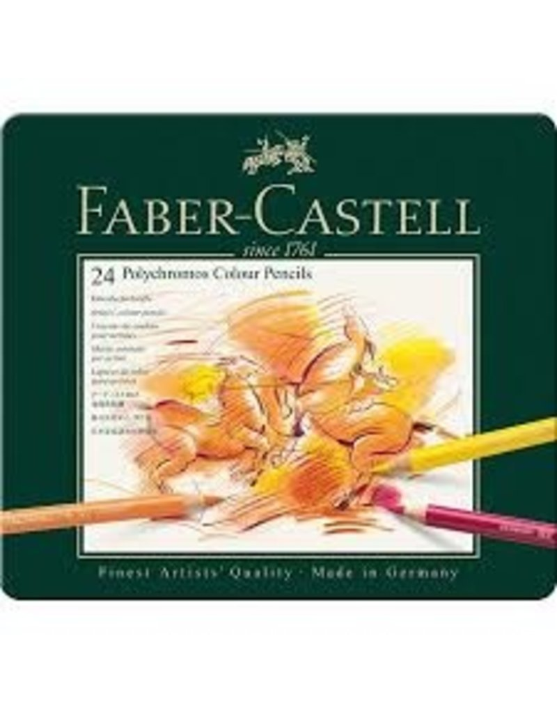 Faber Castell 24 Polychromos Color Pencil Set