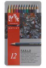 Caran D'Ache Pablo 12 Color Pencils