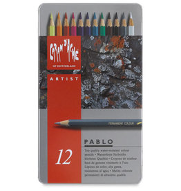 Caran D'Ache Pablo 12 Color Pencils