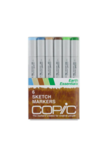 Copic 6 PK Sketch Marker Set  - Essentials