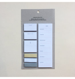 Monograph Monograph Sticky Notes