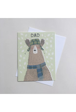 Charming Bear Father's Day Card