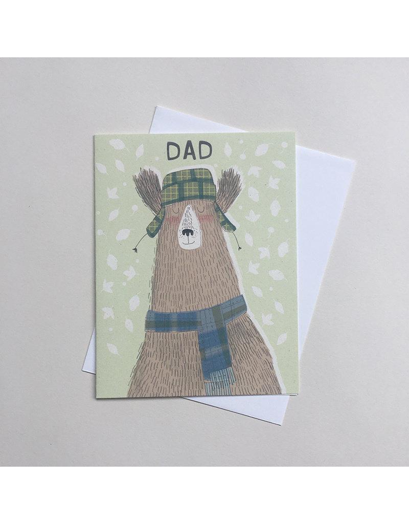 Charming Bear Dad Card