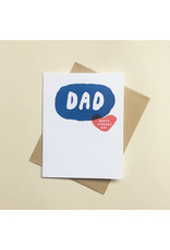 Bubble Dad Card