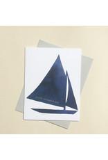 E. Frances Father's Day Sail Card