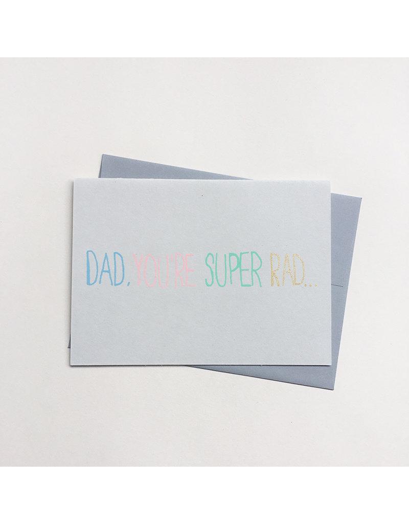 Super Rad Dad Card