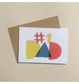 Primary Dad Card